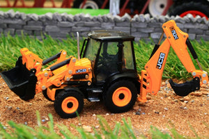 OXF76CX001 OXFORD DIE CAST JCB 3CX ECO BACKHOE LOADER (1:76 SCALE)