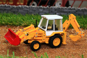 OXF 76JCX001 OXFORD DIE CAST SCALE JCB 3CX 1980S BACKHOE (1:76 SCALE)