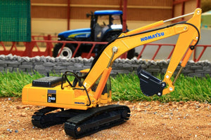OXF 76KOM001 OXFORD DIE CAST KOMATSU PC340 SWING SHOVEL (1:76 SCALE)