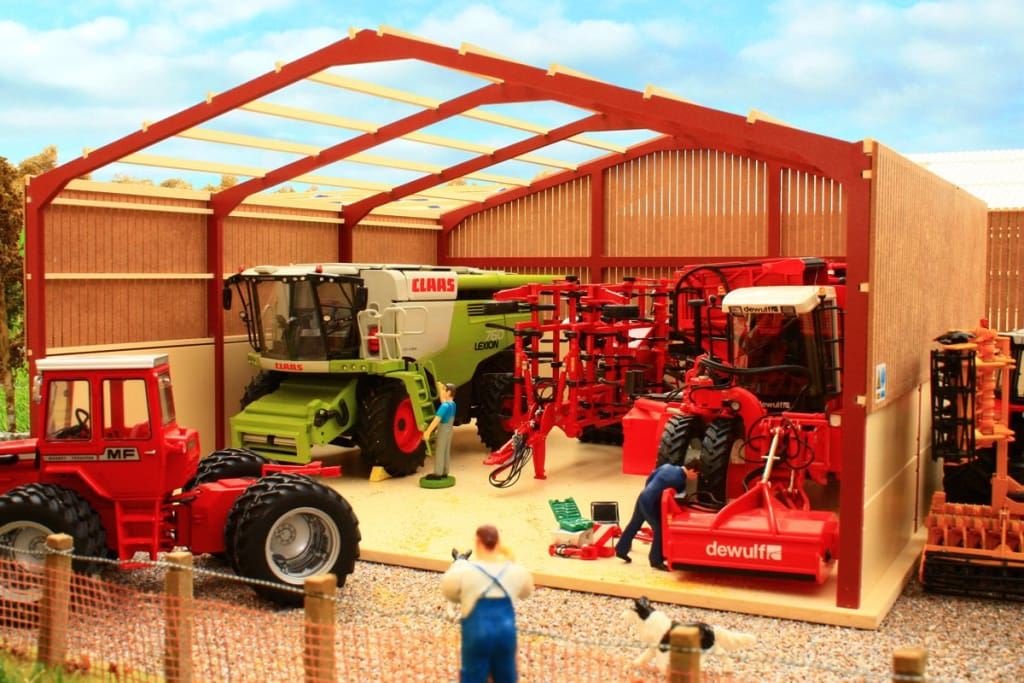 PB12A(RO) Pro Build General Purpose Shed 3 (Red Oxide Frame)