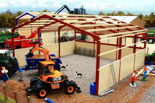 PB12B(RO) Pro Build General Purpose Shed 3 (Red Oxide Frame)