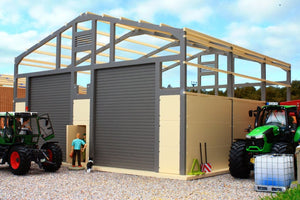 PB14(G) Pro Build Grain Storage Shed (Grey Frame)