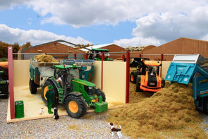 Pb17 Large Open Double Silage Clamp Pro-Build Range (1:32 Scale)