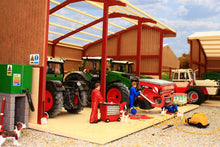 Load image into Gallery viewer, PB1A Pro Build Tractor and Machinery Shed (Red Oxide)