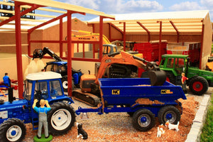 PB1B Pro Build Tractor and Machinery Shed (Red Oxide)