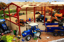 Load image into Gallery viewer, PB1B Pro Build Tractor and Machinery Shed (Red Oxide)