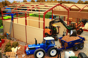 PB3B Pro Build Covered Silage Clamp (Red Oxide)