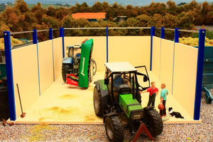 PB4 Pro Build Open Silage Clamp (Blue Frame)