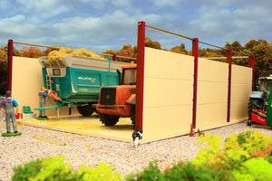 PB4 Pro Build Open Silage Clamp (Red Oxide)