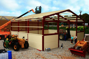 PB8B(RO) Pro Build General Purpose Shed 2 (Red Oxide Frame)