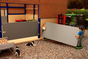 PBDR1 Pro Build Doors 15FT- For use with Shed Kits PB2, PB6, and PB7