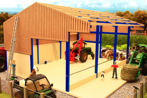Pb2A Pro Build Side Feed Livestock Shed Pro-Build Range (1:32 Scale)