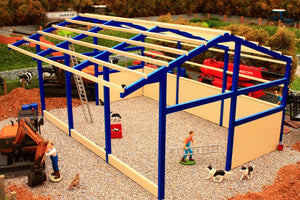 PB2B Pro Build Side Feed Livestock Shed