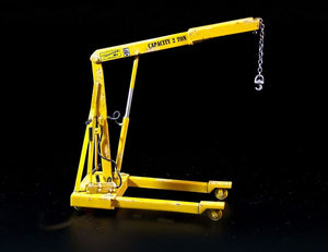 PLM386 Plusmodel US Workshop Crane (135 Scale)