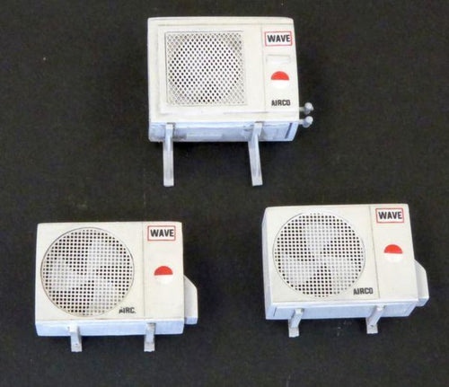 PLM491 Plusmodel Air Conditioning Unit Kit - Parts (135 Scale)
