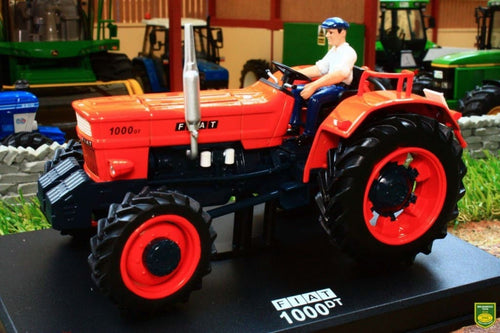 REP051 REPLICAGRI FIAT 1000 DT TRACTOR WITH DRIVER FIGURE