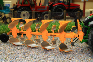 REP056 REPLICAGRI HUARD QR65 4 FURROW REVERSIBLE PLOUGH
