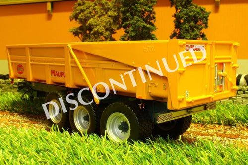 REP104 REPLICAGRI MAUPA BENNE TDM23TS TIPPING TRAILER IN YELLOW