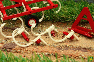 Rep111 Replicagri Ih Chisel Cultivator 55 2.45 3.60 Tractors And Machinery (1:32 Scale)