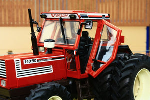 REP117 REPLICAGRI FIAT 140 90 TRACTOR WITH DETACHABLE DUAL REAR WHEELS