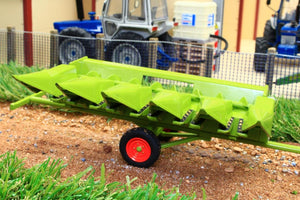 Rep131C Replicagri Claas Dominator Maize Header With Trailer Tractors And Machinery (1:32 Scale)