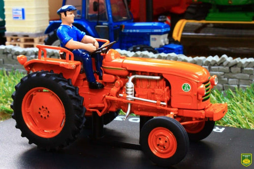 REP173 REPLICAGRI RENAULT D35 TRACTOR WITH DRIVER FIGURE