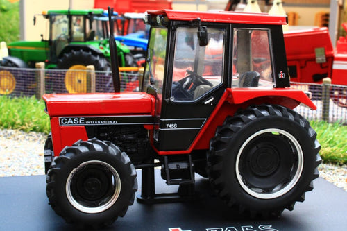 REP212 REPLICAGRI CASE IH 745S 4WD TRACTOR WITH BLACK CAB
