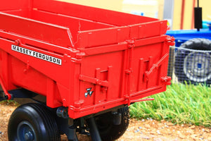 Rep218 Replicagri Massey Ferguson Benne 108Se Tipping Trailer ** £5 Off Rrp! Tractors And Machinery
