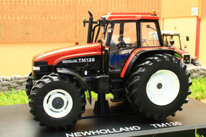 Rep221 Replicagri New Holland Tm135 Tractor In Terracota Tractors And Machinery (1:32 Scale)