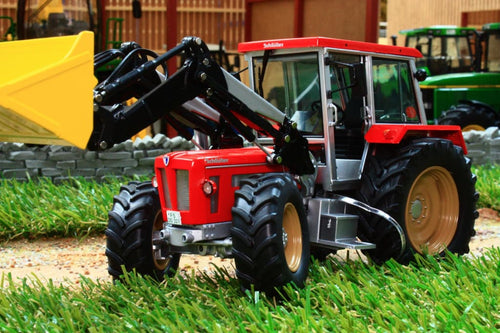 SCH07624 SCHUCO SCHUTLER COMPACT 1250 TV6 TRACTOR WITH FRONT LOADER