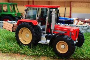 Sch07627 Schuco Schluter 1350 Tractor With Link Box Tractors And Machinery (1:32 Scale)