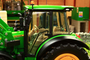 Sch07728 Schuco John Deere 5125R Tractor With Front Loader Tractors And Machinery (1:32 Scale)