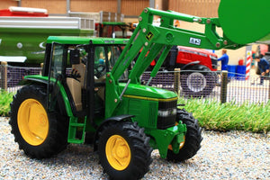 SCH07733 Schuco John Deere 6300 Tractor with Loader (1:32 Scale)