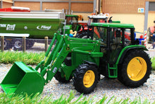 Load image into Gallery viewer, SCH07733 Schuco John Deere 6300 Tractor with Loader (1:32 Scale)