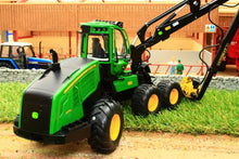 Load image into Gallery viewer, Sch07759 Schuco John Deere 1270G 6W Forestry Machine Tractors And Machinery (1:32 Scale)