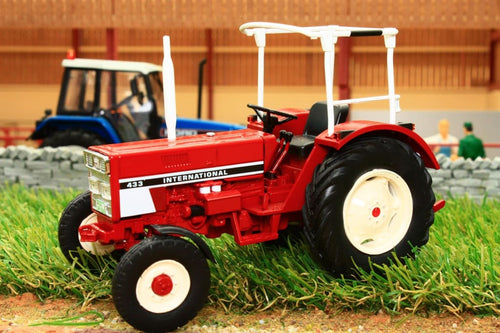 Sch07793 Schuco International 433 Tractor With Open Cab Tractors And Machinery (1:32 Scale)