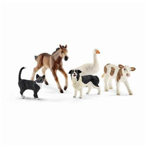 SL42386 Schleich Farm World Animal Mix (1:24 Scale)