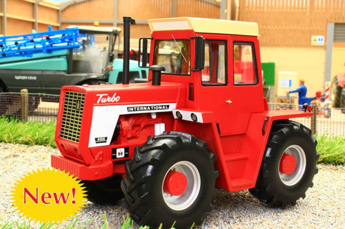 SHU09109 SCHUCO INTERNATIONAL 4166 TRACTOR IN RED PRO.R32 HI DETAIL RESIN MODEL