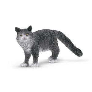 SL13893 Schleich Cat - Maine Coon Cat