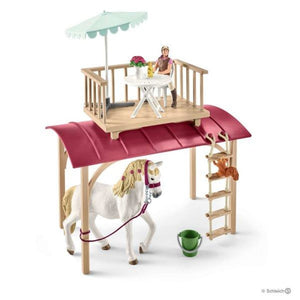 Sl42415 Schleich Horse Club Caravan For Secret Meetings ** 10% Off Equestrian Department (All