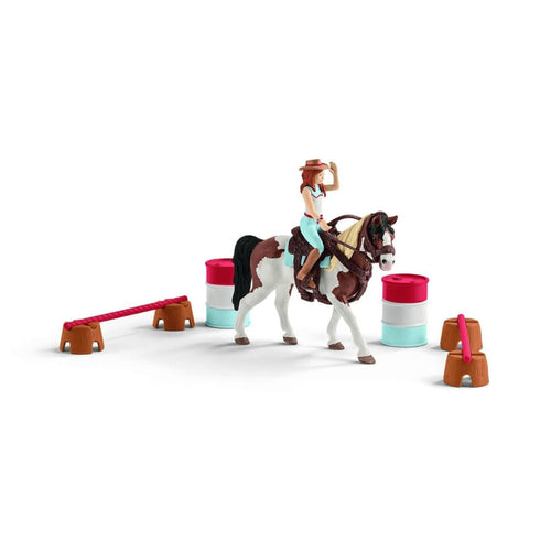 SL42441 Schleich Horse Club Hannah's Western Riding Set