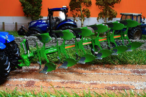 Uh4275 Universal Hobbies Amazone Cayron 200 Six Furrow Reversible Plough - Discontinued Tractors And