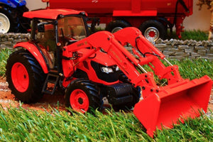 UH4869 UNIVERSAL HOBBIES KUBOTA M9960 TRACTOR WITH FRONT LOADER