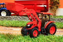 Load image into Gallery viewer, Uh4869 Universal Hobbies Kubota M9960 Tractor With Front Loader Tractors And Machinery (1:32 Scale)