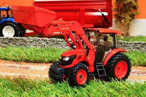 Uh4869 Universal Hobbies Kubota M9960 Tractor With Front Loader Tractors And Machinery (1:32 Scale)