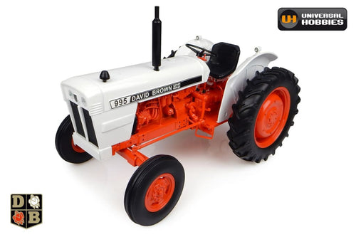 Uh4885 Universal Hobbies Case David Brown 995-1973 With Round Fenders (1:16 Scale) Tractors And