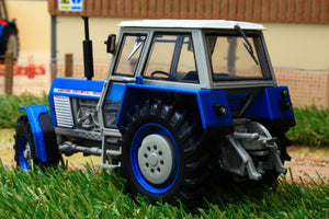 Uh4985 Universal Hobbies Zetor Crystal 12045 4Wd Blue Version Tractors And Machinery (1:32 Scale)