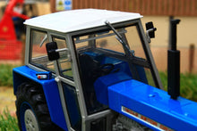 Load image into Gallery viewer, Uh4985 Universal Hobbies Zetor Crystal 12045 4Wd Blue Version Tractors And Machinery (1:32 Scale)