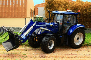 Uh5320 Universal Hobbies New Holland T6.175 Blue Power Tractor With Loader Tractors And Machinery