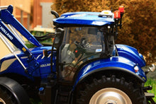 Load image into Gallery viewer, Uh5320 Universal Hobbies New Holland T6.175 Blue Power Tractor With Loader Tractors And Machinery